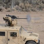EOS R400S Mk2 testing on HMMWV at APG in 2017.